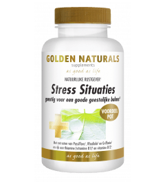 Golden Naturals Stress Situaties 180 capsules