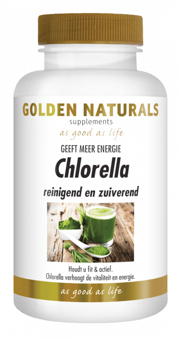 Golden Naturals Chlorella 600 tabletten