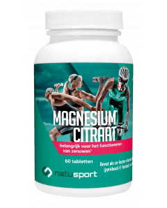 NatuSport Magnesium Citraat 60 tabletten