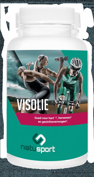 NatuSport Visolie 1000 mg EPA 33%/DHA 22% 90 softgel capsules
