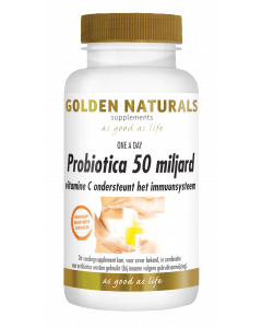 Golden Naturals Probiotica 50 miljard 30 vegetarische maagsapresistente capsules