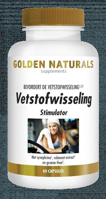 Golden Naturals Vetstofwisseling Stimulator 60 capsules