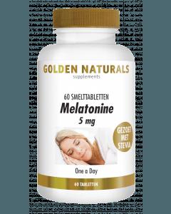 Golden Naturals Melatonine 5 mg 60 smelttabletten