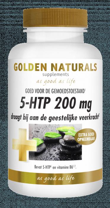 Golden Naturals 5-HTP 200 mg 60 capsules