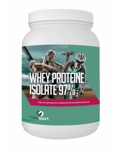 NatuSport Whey Protein Isolate 97% 450 gram