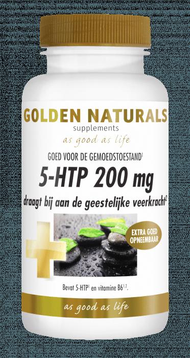 Golden Naturals 5-HTP 200 mg 30 capsules