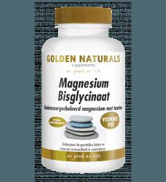 Golden Naturals Magnesium Bisglycinaat 180 tabletten