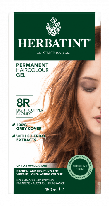 Herbatint 8R Light Copper Blonde 150 milliliter