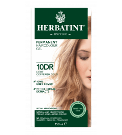 Herbatint 10DR Light Copperish Gold 150 milliliter