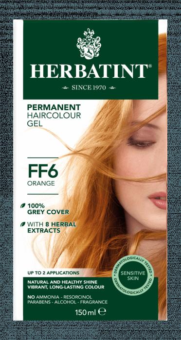 Herbatint FF6 Flash Fashion Orange 150 milliliter