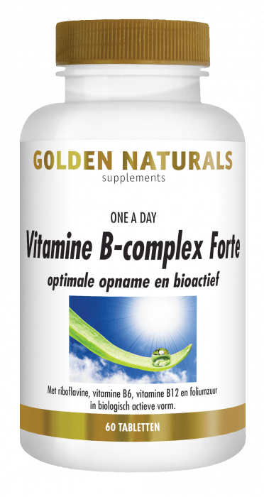 Golden Naturals Vitamine B-Complex Forte 60 tabletten
