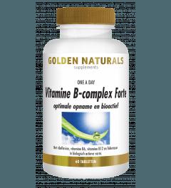 Golden Naturals Vitamine B-Complex Forte 60 tabletten