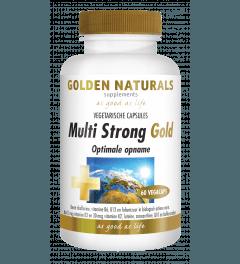 Golden Naturals Multi Strong 60 vegetarische capsules