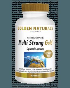 Golden Naturals Multi Strong 180 vegetarische capsules