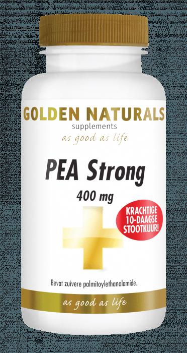 Golden Naturals PEA Strong 400 mg 30 vegetarische capsules