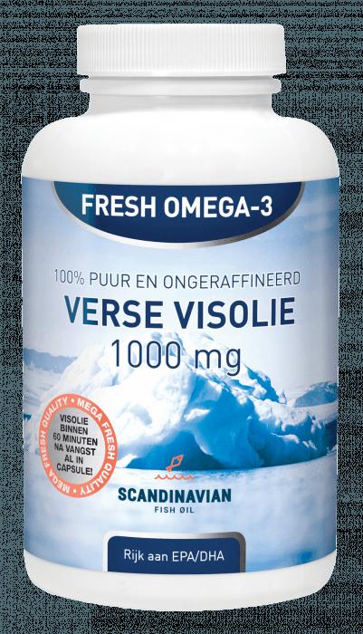 Natusor Fresh Omega-3 Verse Visolie 180 softgel capsules
