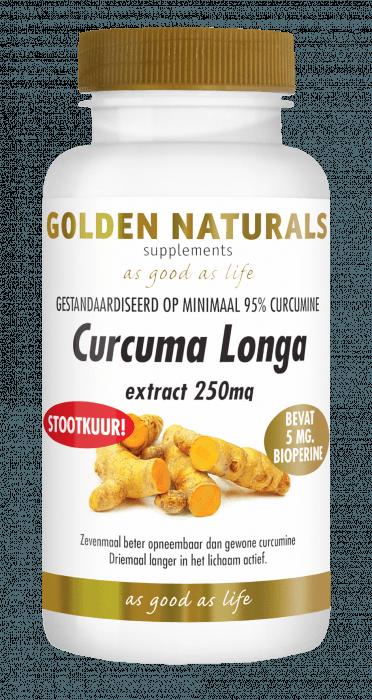 Golden Naturals Curcuma Longa 30 capsules