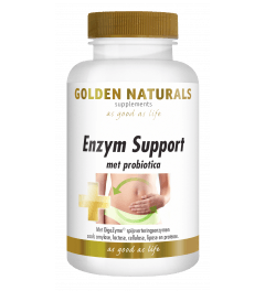 Golden Naturals Enzym Support 60 vegetarische capsules