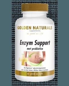 Golden Naturals Enzym Support 60 vegetarische capsules