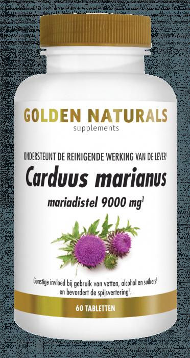 Golden Naturals Carduus Marianus 60 tabletten
