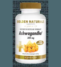 Golden Naturals Ashwagandha 60 vegetarische capsules