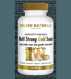 Golden Naturals Multi Strong Gold Senior 60 vegetarische capsules