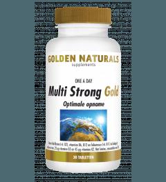 Golden Naturals Multi Strong Gold 30 tabletten