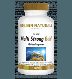 Golden Naturals Multi Strong Gold 90 tabletten