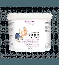 Naturalize Dode Zeezout crème 500 milliliter