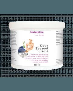 Naturalize Dode Zeezout-crème 500 milliliter