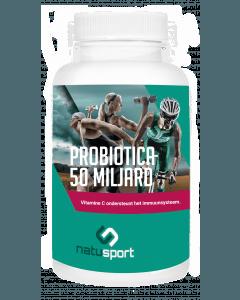 NatuSport Probiotica 50 miljard 60 vegetarische maagsapresistente capsules