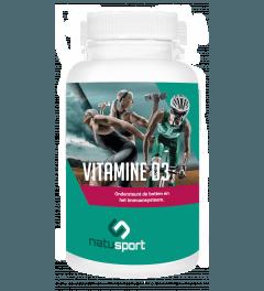 NatuSport Vitamine D3 75 mcg 120 softgel capsules