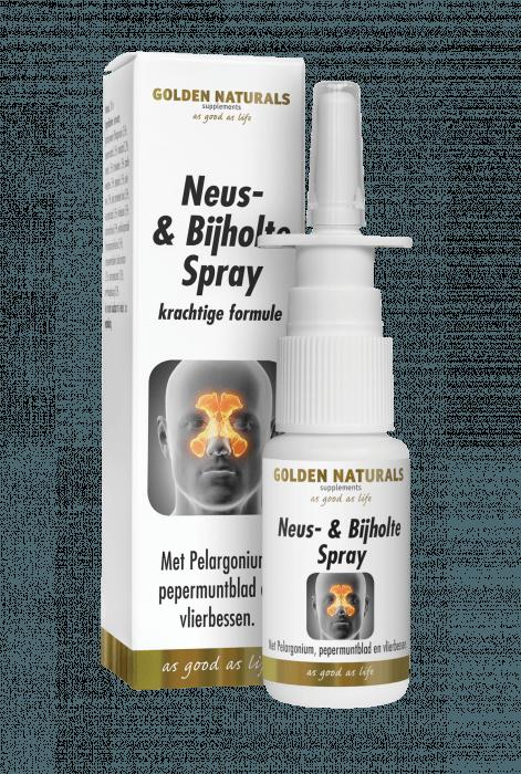 Golden Naturals Neus- & Bijholte Spray 20 milliliter