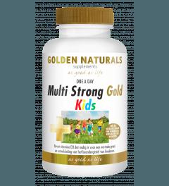 Golden Naturals Multi Strong Gold Kids 60 kauwtabletten