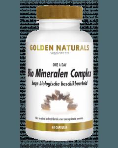 Golden Naturals Bio Mineralen Complex 60 vegetarische capsules
