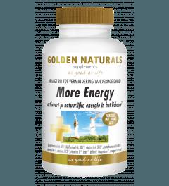 Golden Naturals More Energy 90 vegetarische tabletten