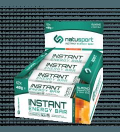 NatuSport Instant Energy Bar - Fresh Orange 12 x 40 gram