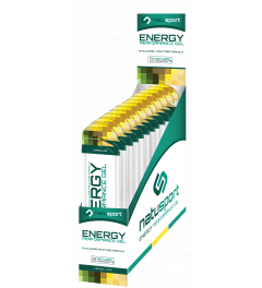 NatuSport Energy Performance Gel - Lemon Lime 12 x 40 gram