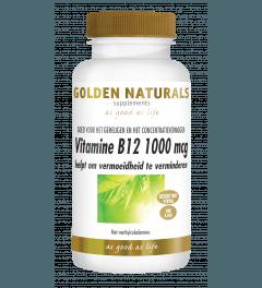 Golden Naturals Vitamine B12 1000 mcg 240 smelttabletten