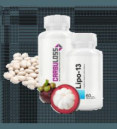 Ecopharma Voordeelpakket Lipo-13 & Carbuloss 60 tabletten + 60 capsules Nee