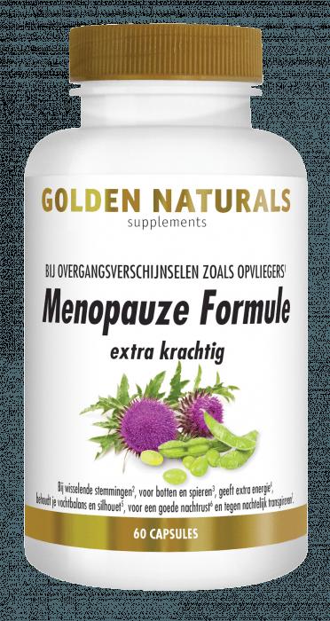 Golden Naturals Menopauze Formule extra krachtig 60 vegetarische capsules