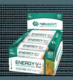 NatuSport Energy Performance Bar OAT&FRUIT Apple-cinamon 12 x 46 gram