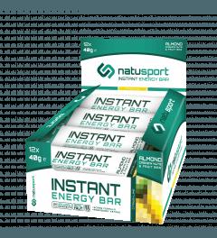 NatuSport Instant Energy Bar Citrus - Lime 12 x 40 gram