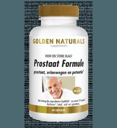 Golden Naturals Prostaat Formule 60 vegetarische capsules