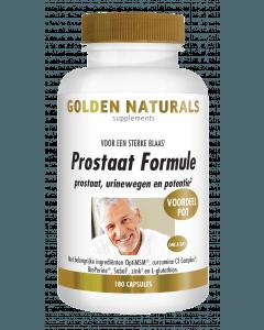 Golden Naturals Prostaat Formule 180 vegetarische capsules