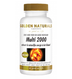 Golden Naturals Multi 2000 30 tabletten