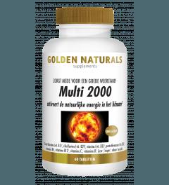 Golden Naturals Multi 2000 60 tabletten