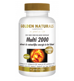 Golden Naturals Multi 2000 180 tabletten