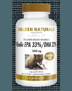Golden Naturals Visolie EPA 33%/DHA 22% 1000 mg 220 softgel capsules