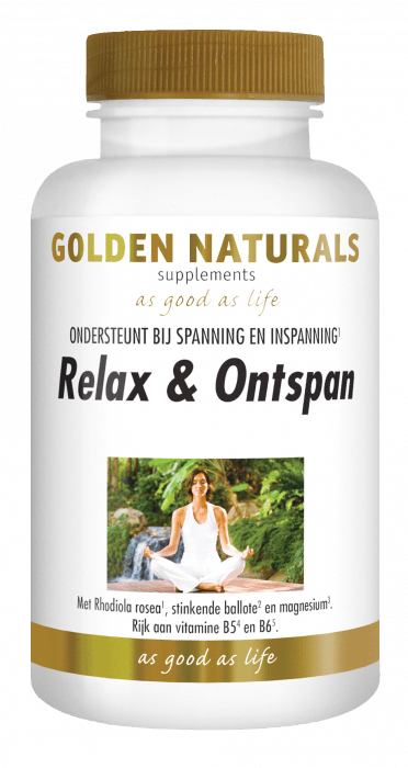 Golden Naturals Relax & Ontspan 60 capsules